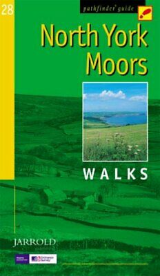 North York Moors: Walks (Pathfinder Guide) by Jan Kelsall Paperback Book The