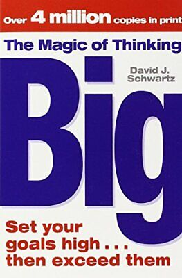 The Magic Of Thinking Big by Schwartz, David  J Paperback Book The Cheap Fast