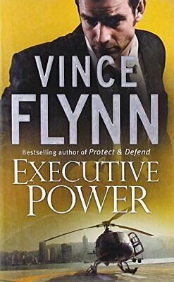 Executive Power by Flynn, Vince Paperback Book The Cheap Fast Free Post