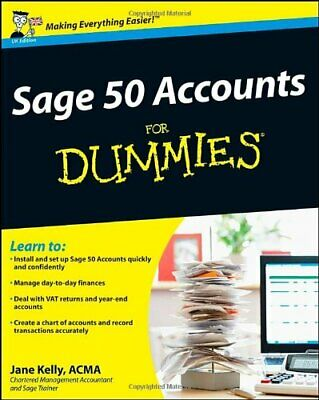 Sage 50 Accounts For Dummies (Updated for 2011) by Kelly, Jane Paperback Book