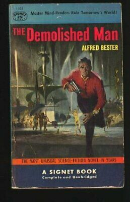 The Demolished Man (Penguin science fiction) by Bester, Alfred Paperback Book
