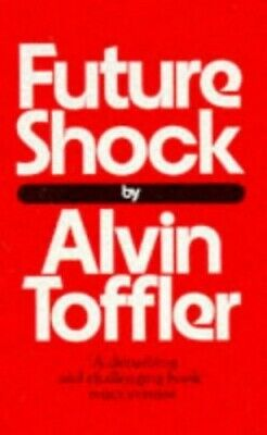 Future Shock, Toffler, Alvin Paperback Book The Cheap Fast Free Post