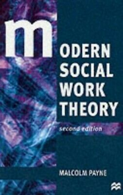Modern Social Work Theory by Malcolm Payne Paperback Book The Cheap Fast Free