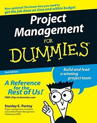 Project Management for Dummies (US Edition) by Portny, Stanley E. Paperback The