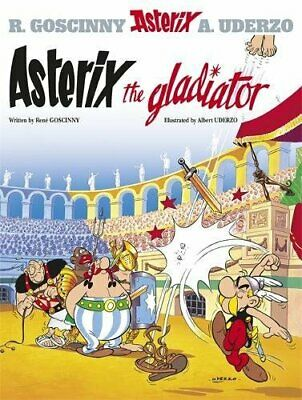 Asterix the Gladiator by Albert Uderzo Paperback Book The Cheap Fast Free Post