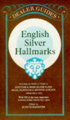 English Silver Hallmarks Paperback Book The Cheap Fast Free Post