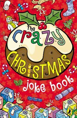 The Crazy Christmas Joke Book by Anon Paperback Book The Cheap Fast Free Post