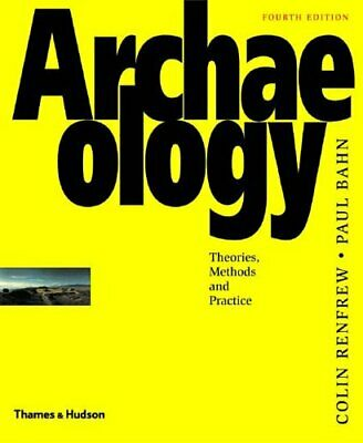 Archaeology: Theories, Methods and Practice, Bahn, Paul G. Paperback Book The