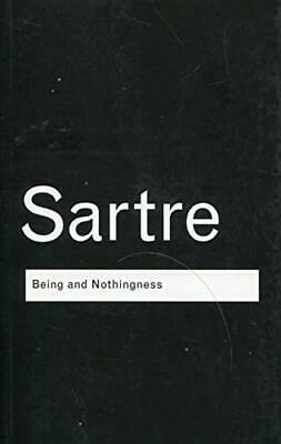 Being and Nothingness: An Essay on Phenomenolo... by Sartre, Jean-Paul Paperback