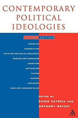 Contemporary Political Ideologies by Eatwell, Roger Paperback Book The Cheap