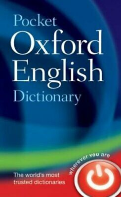 Pocket Oxford English Dictionary Hardback Book The Cheap Fast Free Post