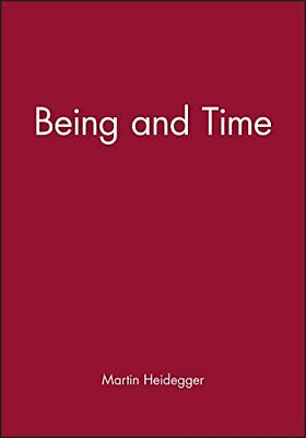 Being and Time by Heidegger, Martin Paperback Book The Cheap Fast Free Post