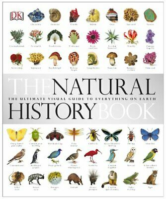 The Natural History Book by DK Hardback Book The Cheap Fast Free Post