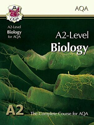 A2-Level Biology for AQA: Student Book by CGP Books Book The Cheap Fast Free