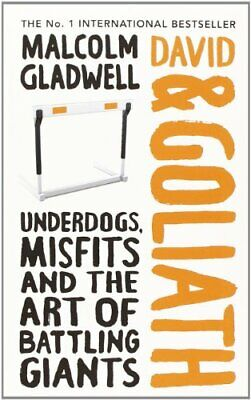 David & Goliath by Gladwell, Malcolm Book The Cheap Fast Free Post