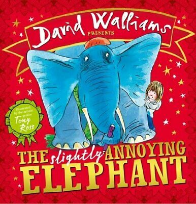 The Slightly Annoying Elephant by Walliams, David Book The Cheap Fast Free Post