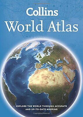 Collins World Atlas: Paperback Edition by Collins Maps Book The Cheap Fast Free