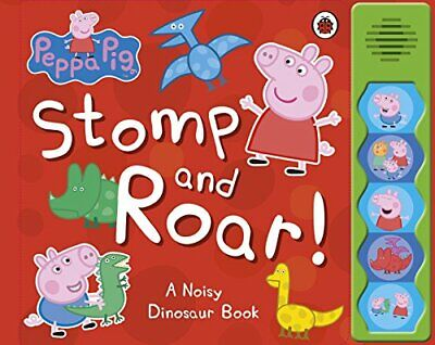 Peppa Pig: Stomp and Roar! Book The Cheap Fast Free Post