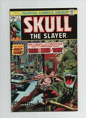 Skull The Slayer #1 - Death At The Dawn Of Time - (Grade 7.5) 1975