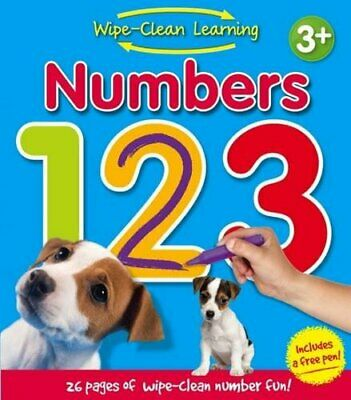 Pre School Wipe Clean Book. Learn to count. Educational. P... by Igloo Books Ltd