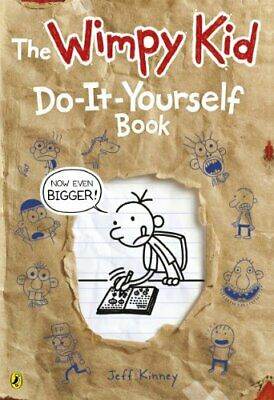 Diary of a Wimpy Kid: Do-It-Yourself Book *NEW large format* by Kinney, Jeff The