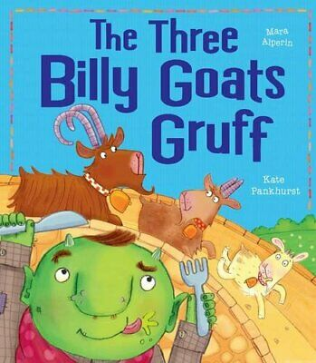 The Three Billy Goats Gruff (My First Fairy Tales) by Alperin, Mara Book The