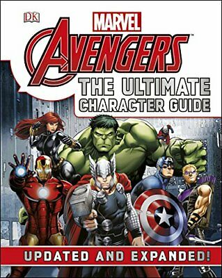 Marvel The Avengers The Ultimate Character Guide, DK Book The Cheap Fast Free