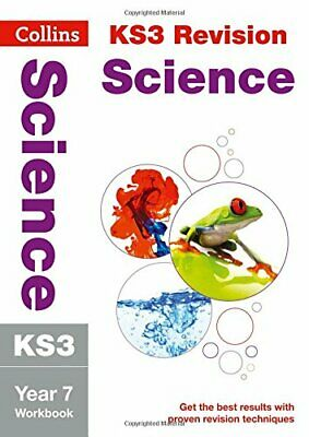 KS3 Science Year 7 Workbook (Collins KS3 Revision) by Collins KS3 Book The Cheap