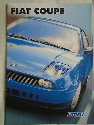 Fiat Coupe range brochure Sep 1996