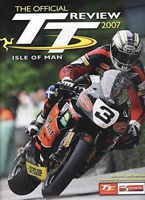 The Official Isle of Man TT Review 2007 Hardback Book The Cheap Fast Free Post