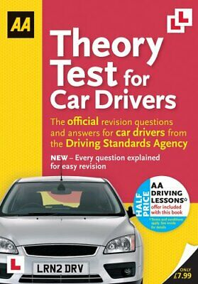 Theory Test for Car Drivers (Aa Driving Test) by AA Publishing Book The Cheap