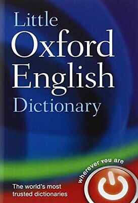 Little Oxford English Dictionary by Oxford Dictionaries Hardback Book The Cheap