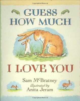 Guess How Much I Love You, McBratney, Sam Hardback Book The Cheap Fast Free Post