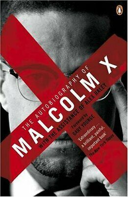 The autobiography of Malcolm X by X, Malcolm Paperback Book The Cheap Fast Free