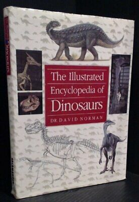 The Illustrated Encyclopaedia of Dinosaurs Hardback Book The Cheap Fast Free