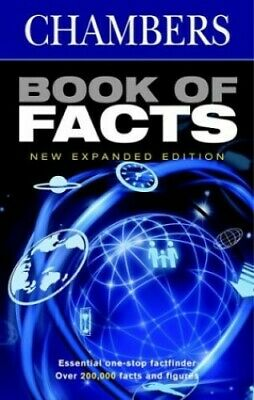 Book of Facts (Chambers) Hardback Book The Cheap Fast Free Post