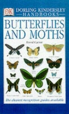 DK Handbook: Butterflies and Moths by Carter, David Hardback Book The Cheap Fast