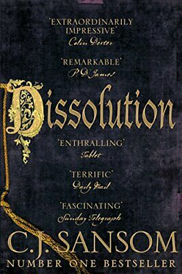 Dissolution (The Shardlake series) by Sansom, C. J. Book The Cheap Fast Free