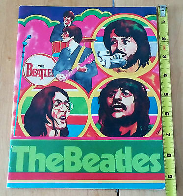 The Beatles «Rock's Pop Stars» creative education booklet 31 pages 1975 USA