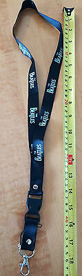 """The Beatles Neck Strap 15"""" Black and white"""