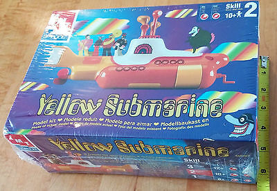 The Beatles Yellow Submarine 1999 Model Kit Serial #1949 Model 30097 NEW SEALED