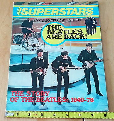"""The Beatles: 'A Manor Movie Superstars' Magazine """"The Beatles are back!"""" 1978."""