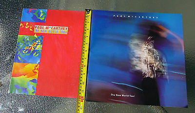 "Paul McCartney ""The New World Tour"" Red + Blue Editions 1993 Concert Programs"