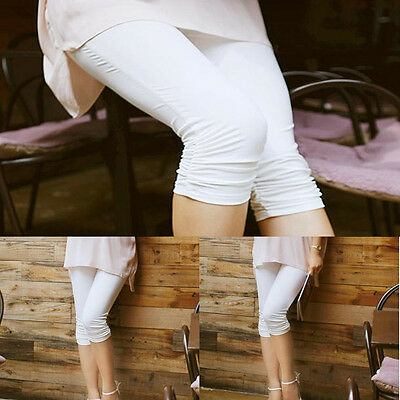 Pregnancy Women Pants Elastic Cotton Abdominal Maternity Leggings Trousers