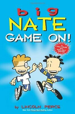 Big Nate: Game On! by Peirce, Lincoln Book The Cheap Fast Free Post