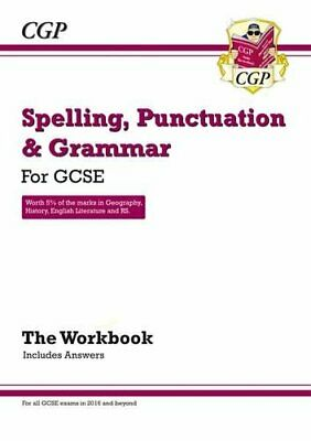 Spelling, Punctuation and Grammar: for Grade 9-1 GCSE Workbook ... by Books, Cgp