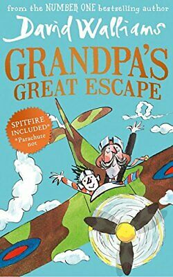 Grandpa's Great Escape by Walliams, David Book The Cheap Fast Free Post
