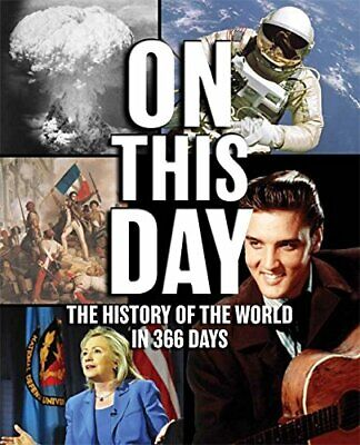 On This Day: The History of the World in 366 Days by Bounty Book The Cheap Fast