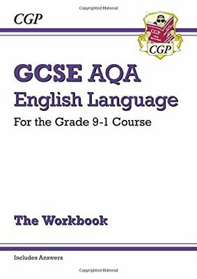 GCSE English Language AQA Workbook - for the Grade 9-1 Course (i... by CGP Books