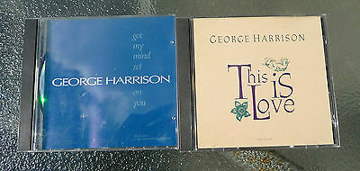 "George Harrison Promo CDs ""Got my mind set on you"" + ""This is Love"""